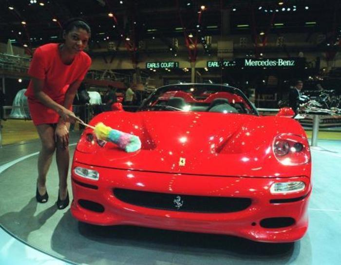 Motor Show Ferrari F50