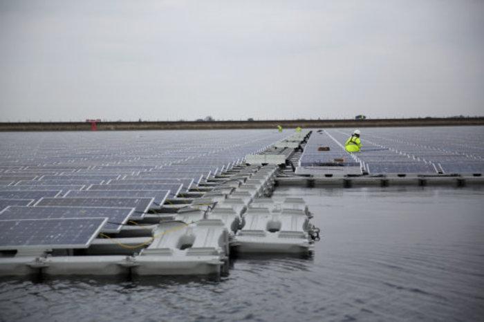 Britain Floating Solar