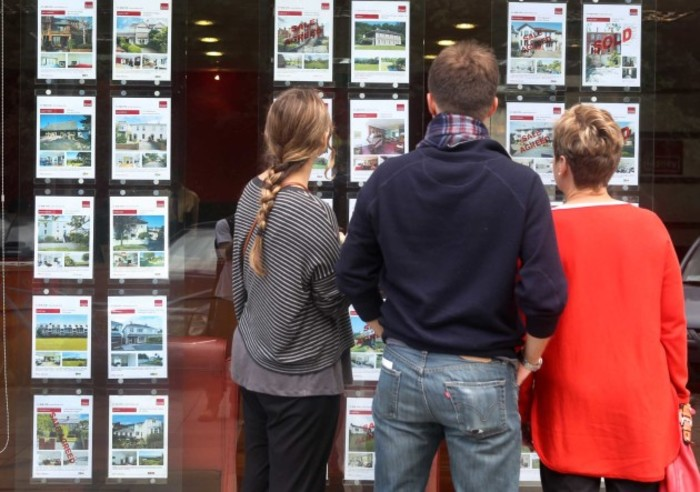 File Photo The Central Bank last night announced the new rules, which will require higher deposits from prospective homebuyers. Under the plan, banks will only be able to lend up to a maximum of 80% of a propertys value.However, there will be an excepti