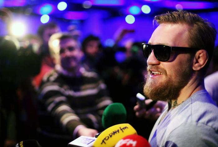 Conor McGregor file photo
