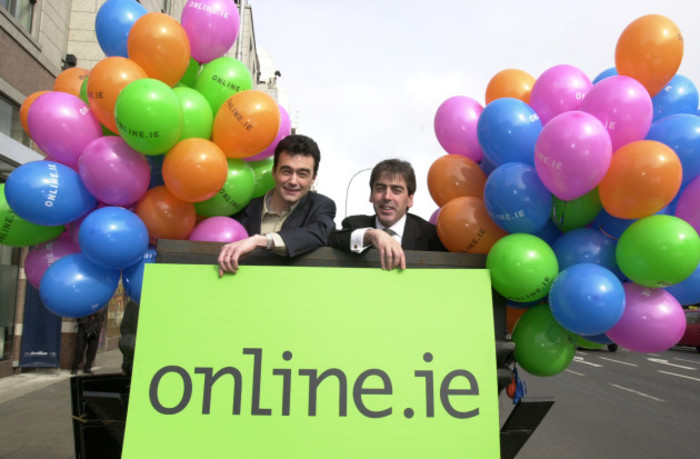 Launch of Online.ie.