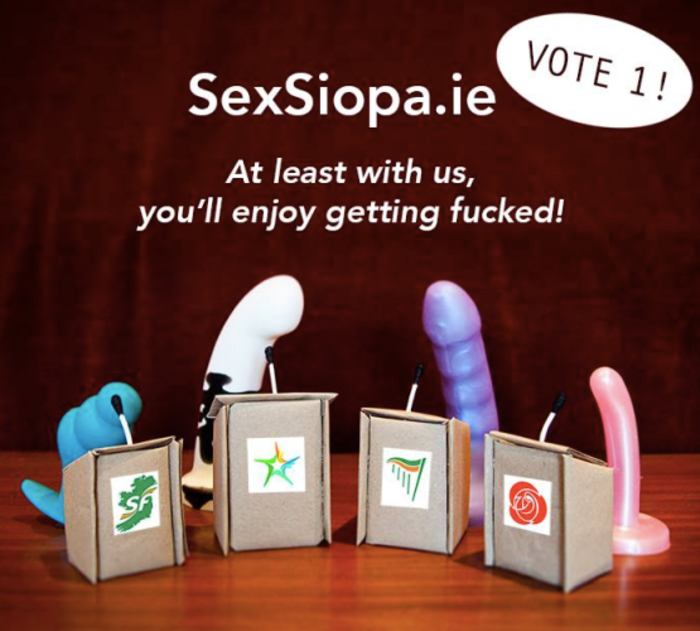 SexSiopa GE advert