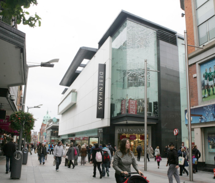 11/10/2011. Debenhams Shops