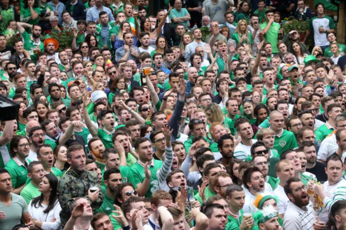 18/6/2016. Irish Soccer Fans