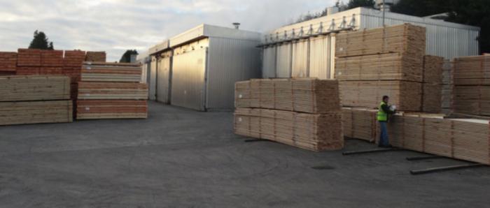 gp wood logs pallet