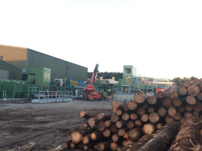 gp wood log yard
