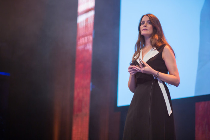 Nora Khaldi at the SingularityU The Netherlands Summit 2016