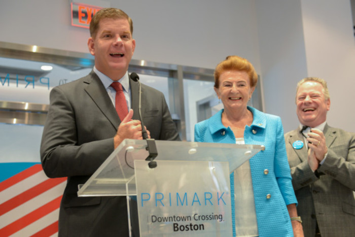 Pictured at the official opening of Primark Downto