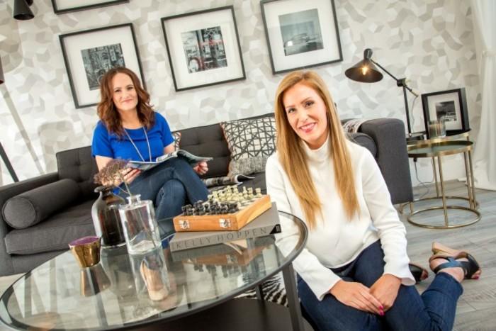 Elaine Regan (left) and Claire Price, House Edit