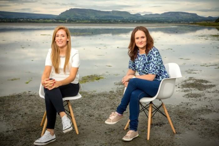 Claire Price (left) and Elaine Regan, House Edit