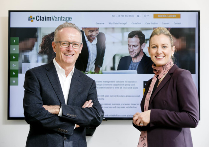 Leo Corcoran, CEO, ClaimVantage and Sinead Heaney, Partner, BDO - Screen
