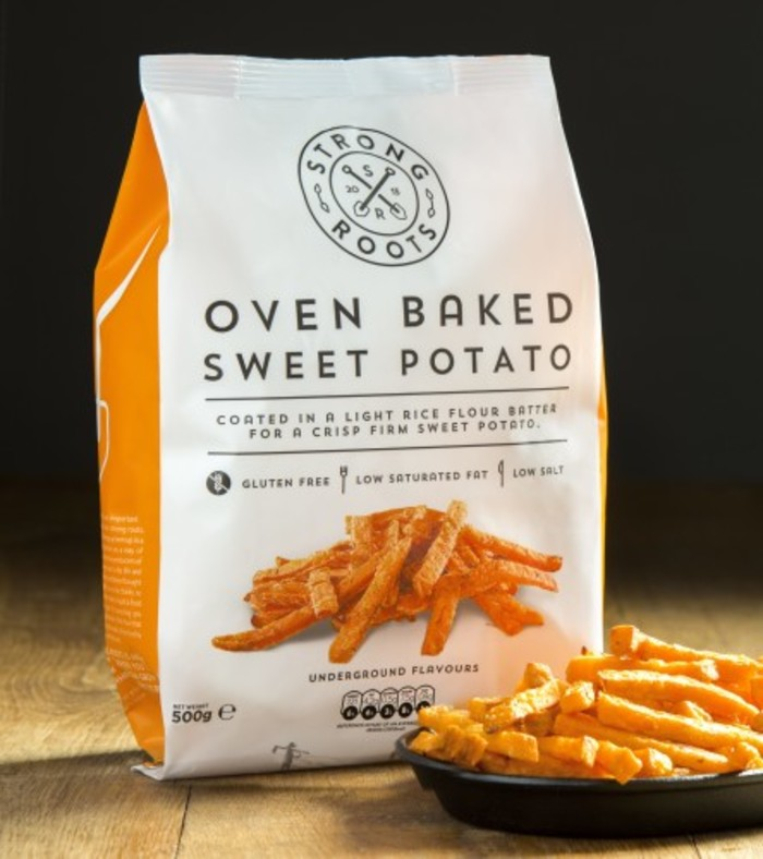 Strong Roots - Oven Baked Sweet Potato