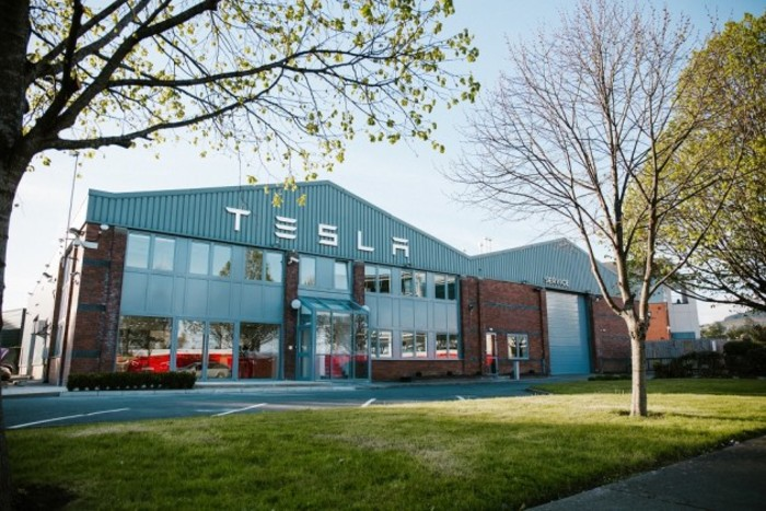 Tesla Supercharger launch in Ireland. Photography by Roger Kenny