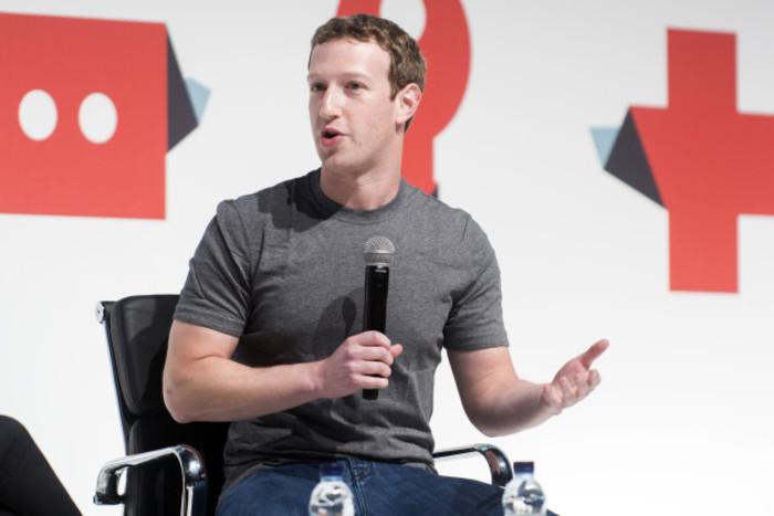 Mark Zuckerberg at Mobile World Congress 2015, Barcelona