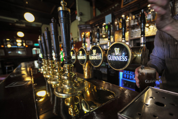 A perfect pint of Guinness in Slatterys Rathmines