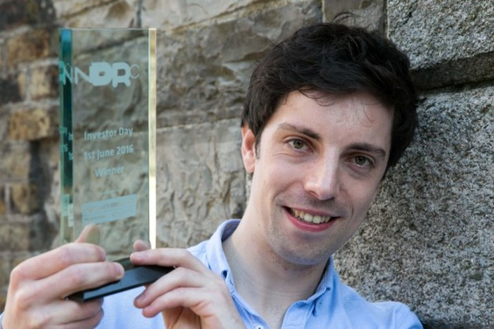 Conall Laverty of Wia wins NDRC Investor Day NDRC8