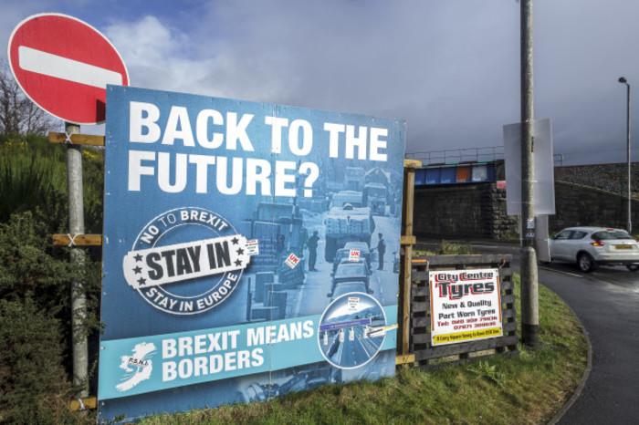 Irish-UK border in Northern Ireland