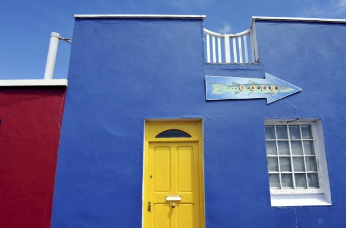 Colourful facades in Dingle