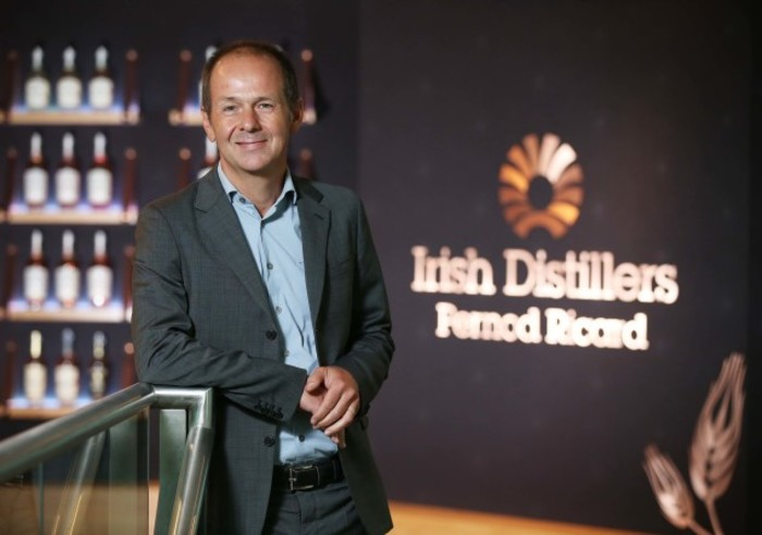 Jean Christophe Coutures Chairman and CEO of Irish Distillers