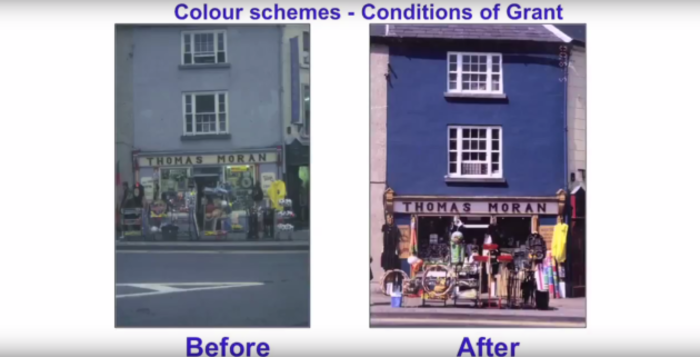 westport painted shops credit TheHeritageCouncil youtube
