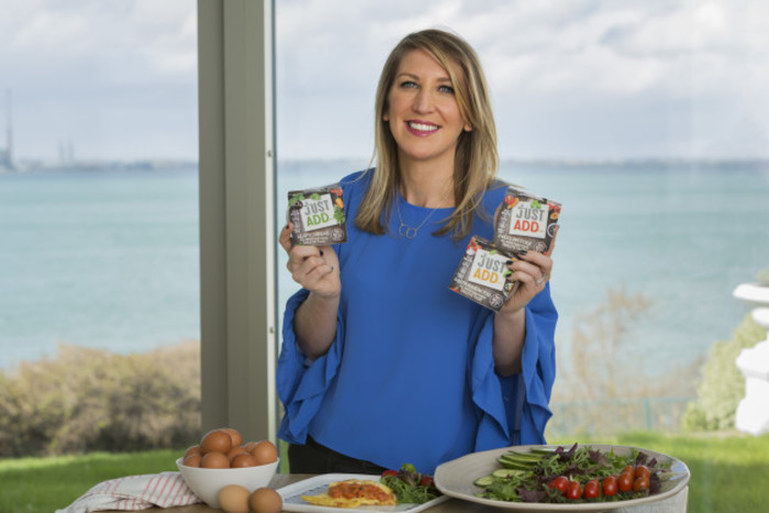 Patricia D'Arcy shows her new Just Add Range
