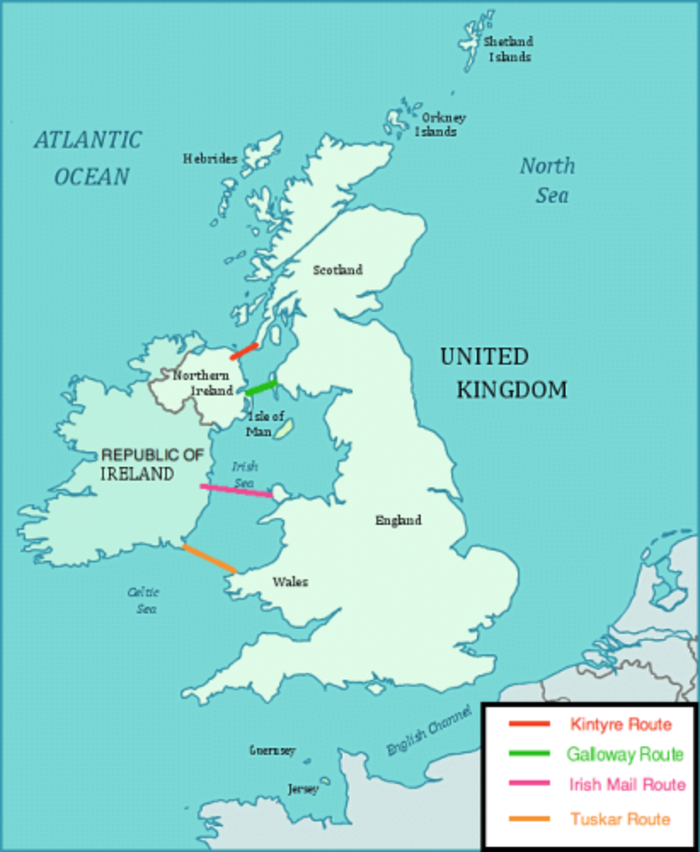 ireland uk tunnel map credit wikimedia