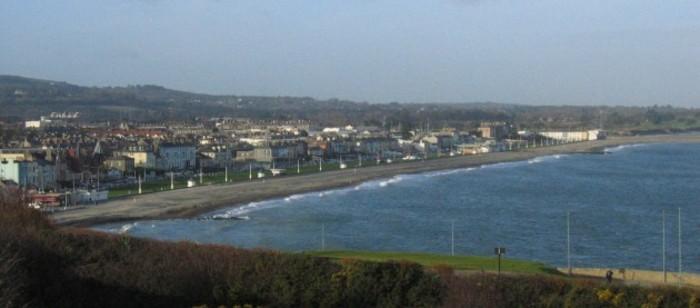 Bray seafront wikimedia