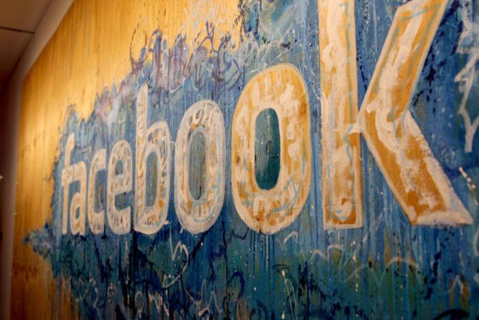 Facebook Logo at Facebook International