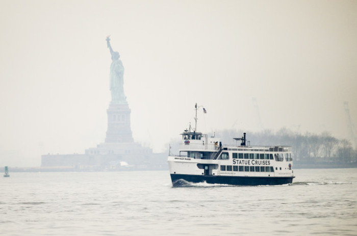 U.S.-NEW YORK-STATUE OF LIBERTY-REOPEN