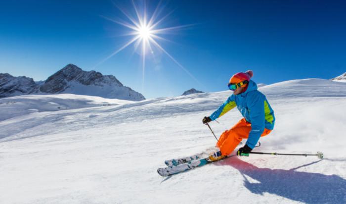 skiing stock