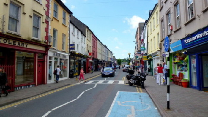 bandon cork main st geograph.ie