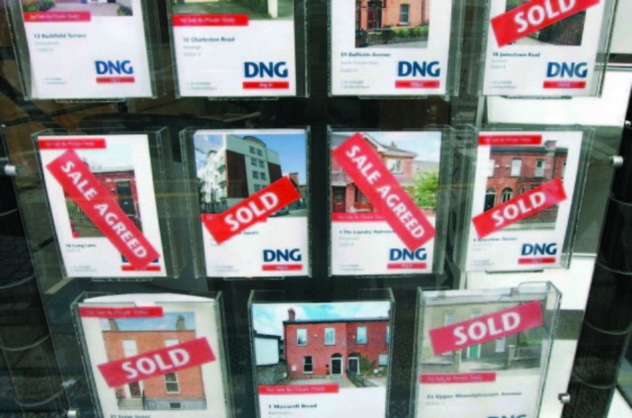 The average price of a three-bedroom semi-detached house in Dublin is now more than ten times the average household income in the capital