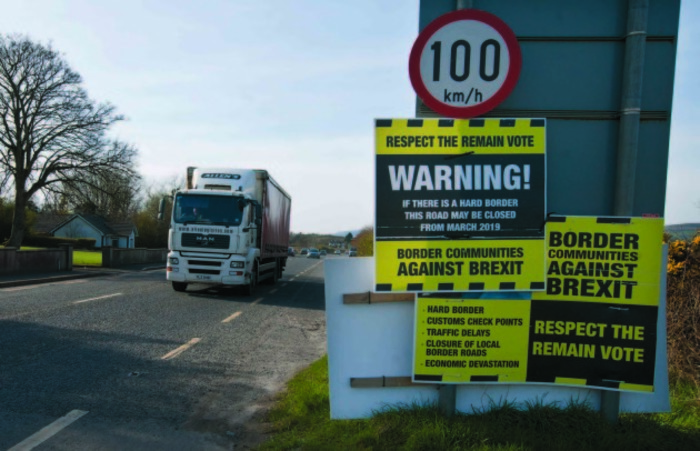 File Photo Ireland and the UK still can't agree on Brexit border deal as 'absolute deadline' approaches. End