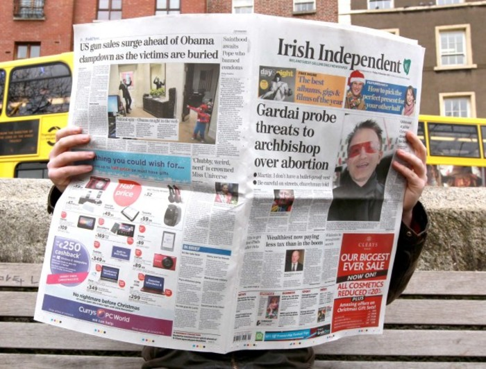 THE STATE'S CORPORATE watchdog, theDirector of Corporate Enforcement, is to seek inspectors to investigateIndependent News & Media plc, the publisher of the Irish Independent, Sunday Independent, Herald and other newspapers. The Office of the Direct