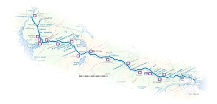 royal canal route