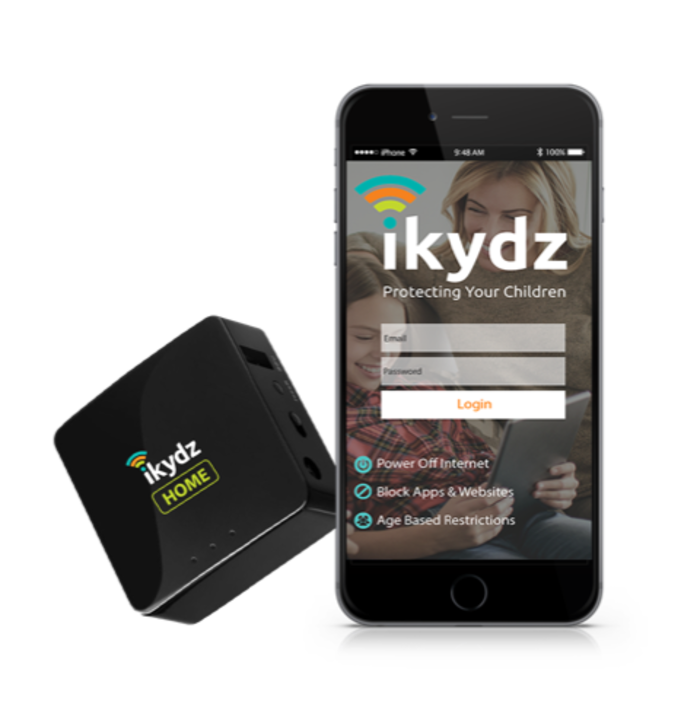 New App with iKydz Home Product
