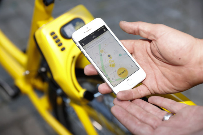 BRITAIN-LONDON-BIKE SHARING-OFO