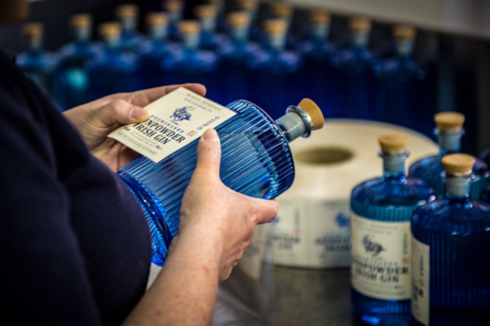 The Shed hand bottling 5