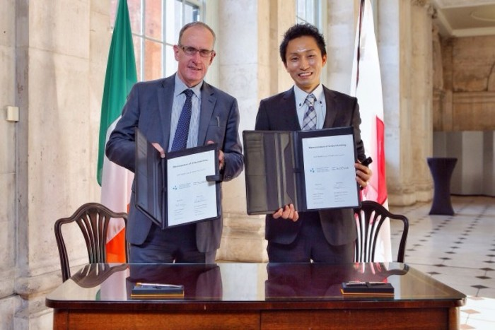 2 Hidebumi Katahara, SoftBank and Owen Keegan, Dublin City Council