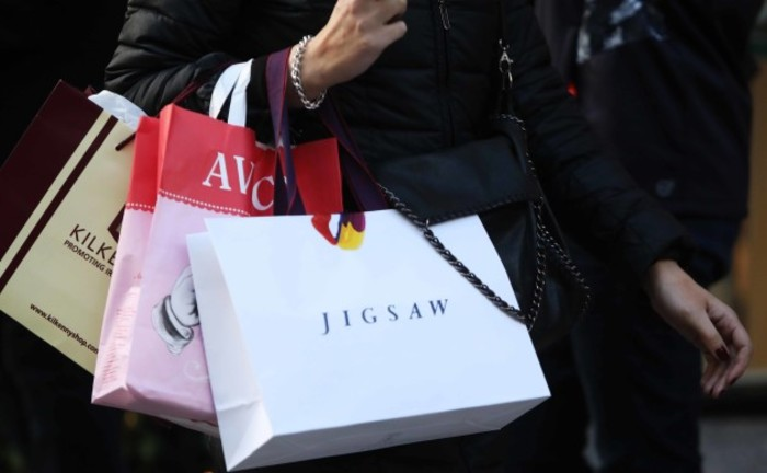 File Photo Irish retailers are on course to record their best Christmas season since 2007. Retail Ireland say most businesses are on track to hit, and even surpass their pre-Christmas sales growth targets. Last minute shoppers created a huge boost to sale