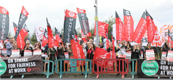Lloyds Pharmacy Strike