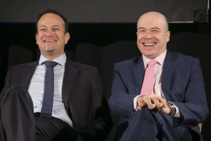 File Photo Taoiseach expresses full confidence in Naughten Over the minister's contacts with US businessman David McCourt. End