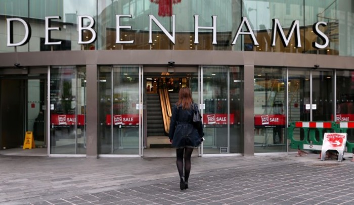 Debenhams profits