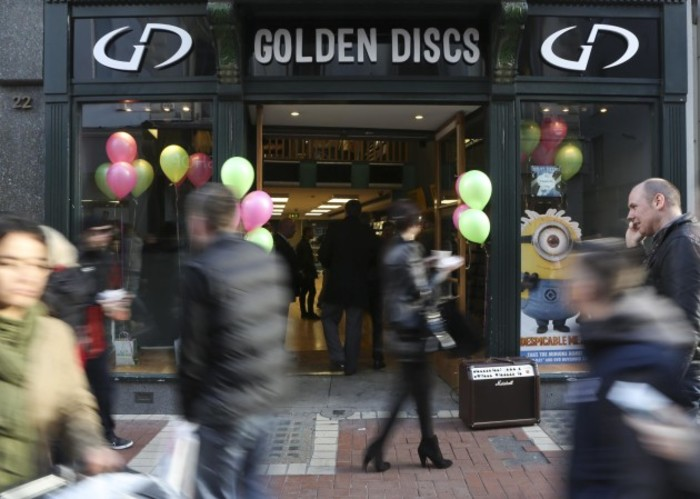 File Photo ENTERTAINMENT RETAIL CHAIN Golden Discs is opening three new outlets