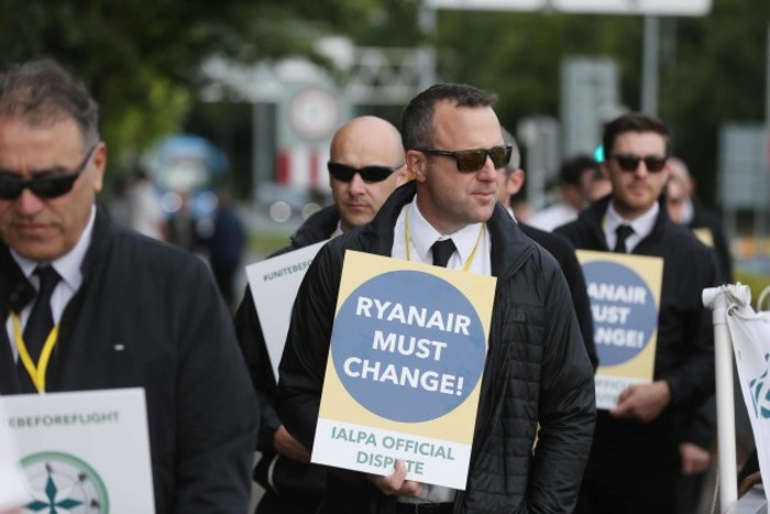File Photo Ryanair pilots in Ireland vote unanimously in favour of accepting collective agreement. End.