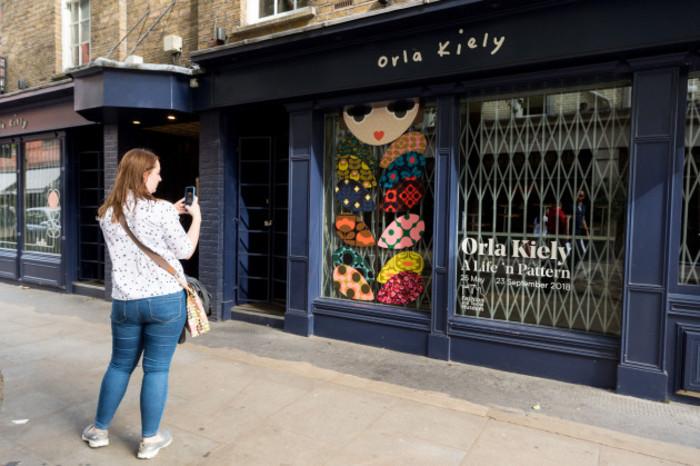Orla Kiely Retail Empire Collapses In London, United Kingdom