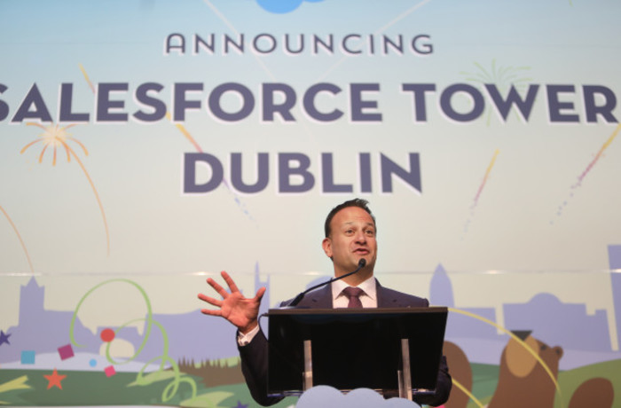 Salesforce Tower jobs announcement Dublin