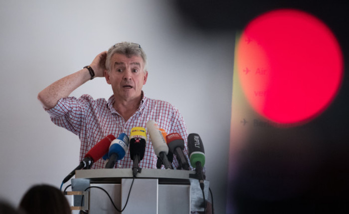 Ryanair CEO Michael O'Leary comments on Air Berlin