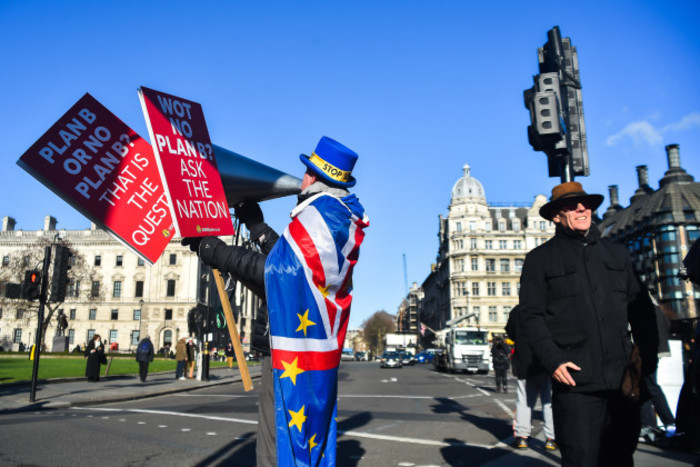 United Kingdom: Anti Brexit Demonstration in Westminster
