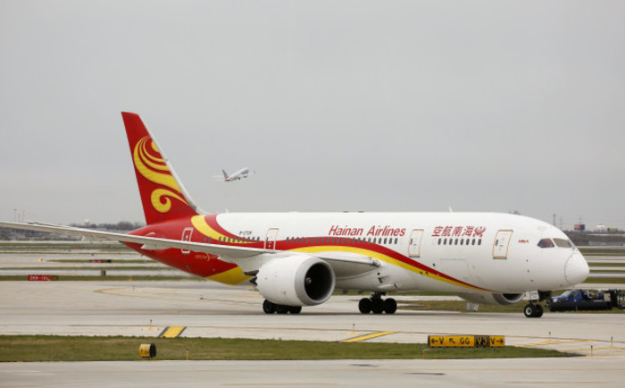 U.S.-CHICAGO-CHINA-BIOFUEL FLIGHT